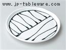黒一珍5.0丸皿