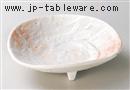 桜志乃三つ足鉢