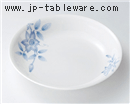 鉄仙花丸皿(大)