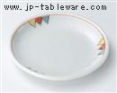 トライアングル4.5丸皿