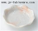 桜志野花型5.0深皿