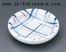 赤絵格子3.0皿