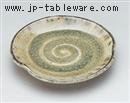 灰釉3.0丸皿