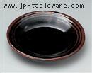 赤土天目三本線11cm丸小皿