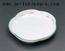 武蔵野花丸皿