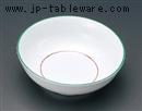 緑彩丸型小鉢