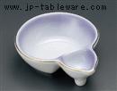 紫吹ヒサゴ形仕切鉢