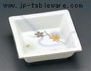 白吹竜田川角鉢