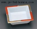 赤金角鉢(大)