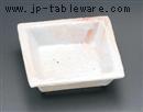 桜志野正角鉢