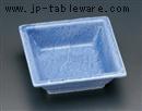 ブルー石目角鉢