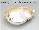 加茂川茄子型仕切皿