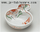 花鳥瓢仕切鉢