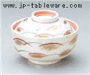 銀彩武蔵野煮物碗