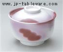 釉裏紅円菓子碗