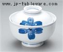 一珍青花円菓子碗