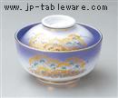 安曇野円菓子碗