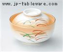 加茂川円菓子碗
