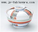 魯山人糸巻き円菓子碗