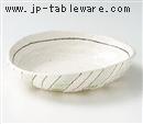 グリン十草楕円浅鉢