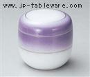 紫吹金線夏目形むし碗(中)