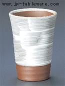 白刷毛焼酎カップ