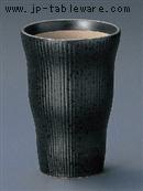 黒油滴ヌリ分フリーカップ(大)