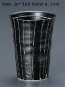 黒ラインフリーカップ(小)
