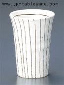 白ラインフリーカップ(小)