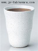 白斑点ヌリ分フリーカップ(小)
