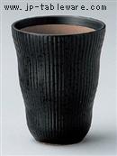 黒油滴ヌリ分フリーカップ(小)