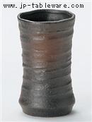 黒伊賀吹きフリーカップ