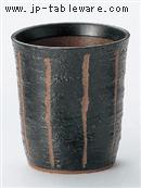 彫トクサ(黒)ロックカップ