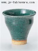 エメラルドグリーンフリーカップ