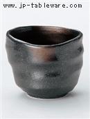 黒備前金茶吹芋焼酎カップ
