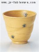 黄瀬戸草紋マルチカップ