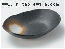 黒備前8.0小判鉢