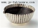 十草(茶)6寸片口すり鉢