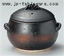 黒丸ごはん鍋(中)5合炊
