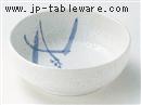粉引稲穂渕波5.0鉢