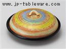 五色カスリ5.5陶板