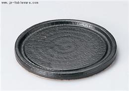 超耐熱丸陶板 黒小