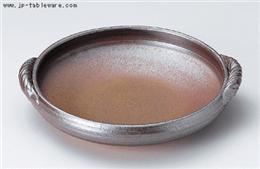 鉄釉9号深形陶板