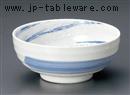 粉引青流6.5高台鉢