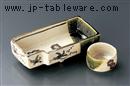 織部刺身鉢