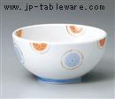淡彩丸紋花5.5深ボール
