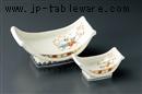 春秋舟型刺身鉢