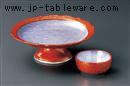 朱巻武蔵野高台刺身鉢