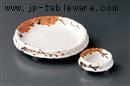 粉引雲錦刺身鉢