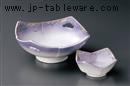 紫むさしの四方刺身鉢